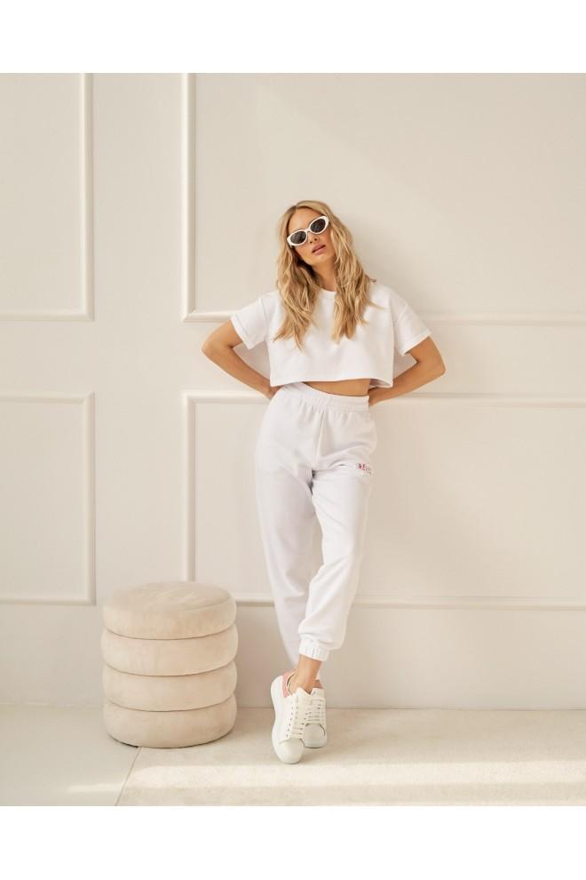 SPODNIE WHITE baggy pants