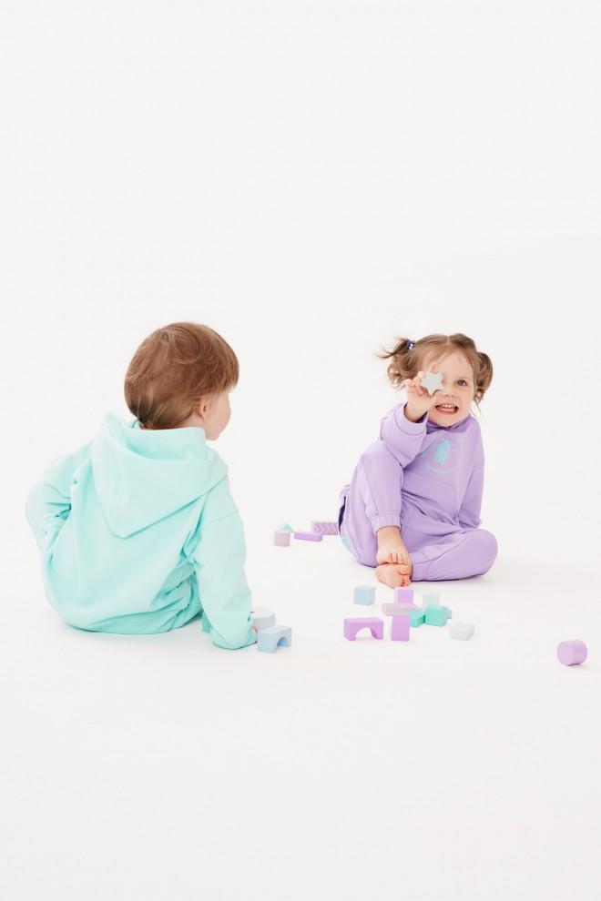 bluza KIDS HOODIE - MINT