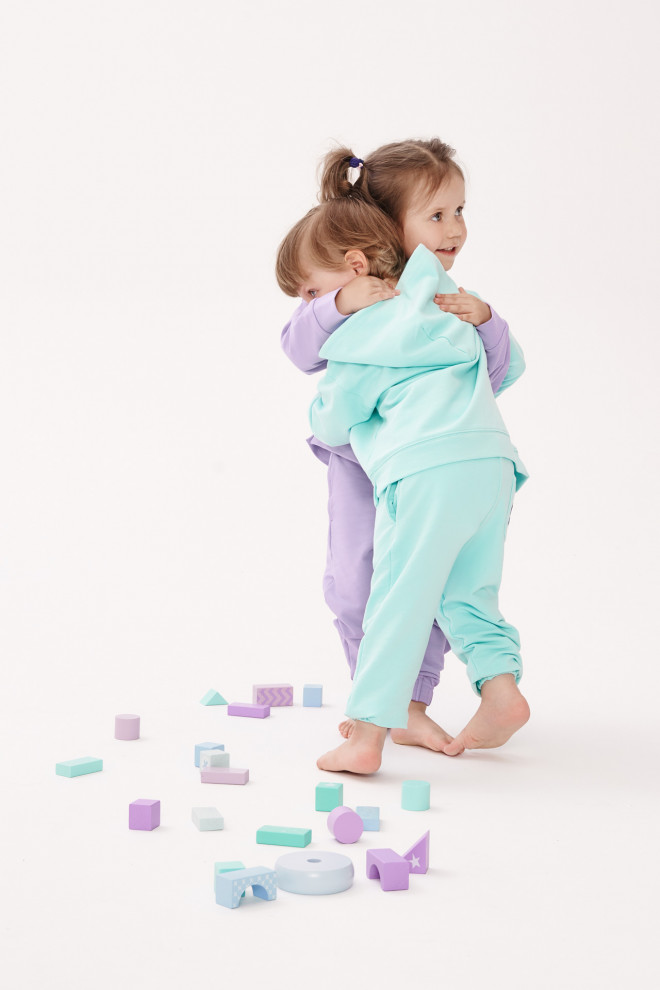 spodnie KIDS PANTS - MINT
