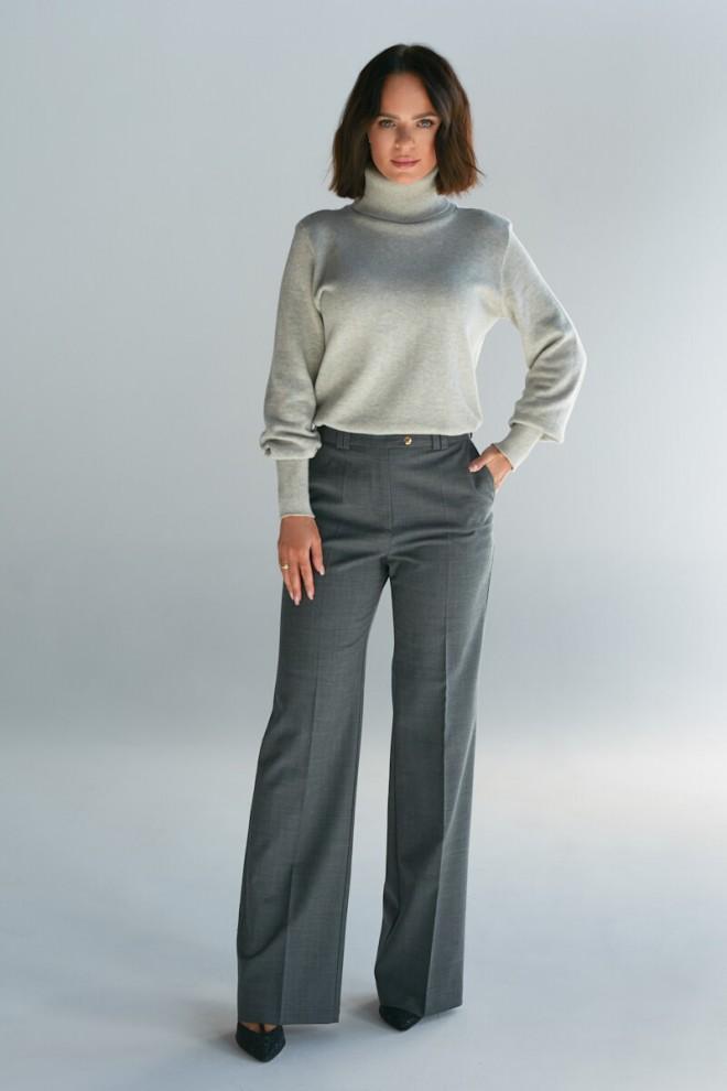 Spodnie garniturowe Ira grey
